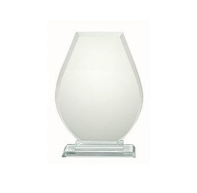 trophée verre socle