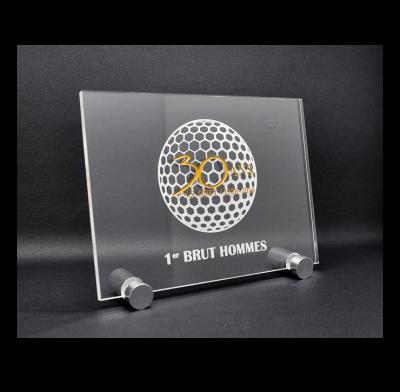 trophée plexi acrylique avec impression couleur