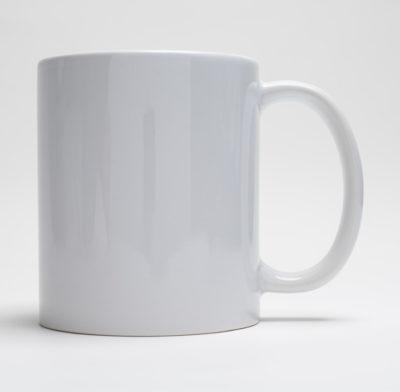 tasse blanche personnalisée
