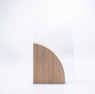 trophée bambou et plexi gravé ou imprimé